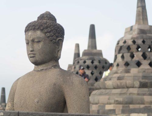 Les temples Borobudur et Prambanan